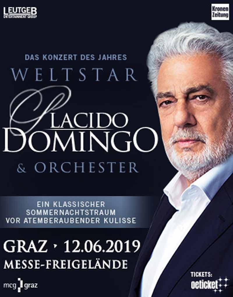 Tickets Für Plácido Domingo In Graz Am 120619 Messe Graz