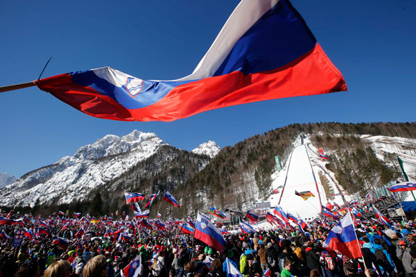 Skisprung Weltcup - Planica Foto 3