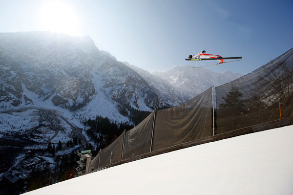 Skisprung Weltcup - Planica Foto 2