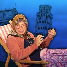 Markus Hirtler als Ermi-Oma - Urlaub in der Toskana