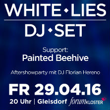 White Lies DJ Set - Support Painted Beehive