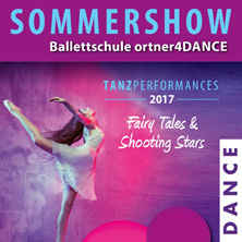ortner4DANCE SommerSHOW - Tickets