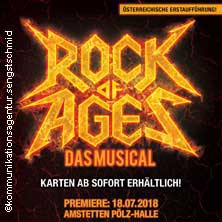 Rock of Ages - Musical Sommer Amstetten 2018 - Tickets