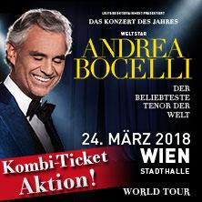 Andrea Bocelli - Cinema World Tour