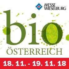bio ÖSTERREICH - Messe Wieselburg - 18.11. bis 19. 11. - TAGESKARTE