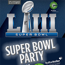 Super Bowl Party - all you can eat and drink