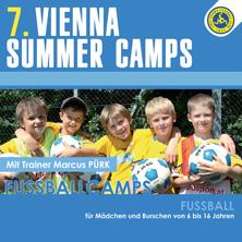 Vienna Summer Camps - Fußballcamp für Mädchen und Burschen