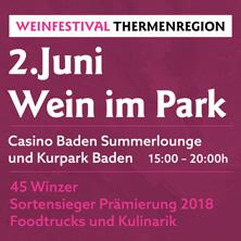 Weinfestival - Wein im Park
