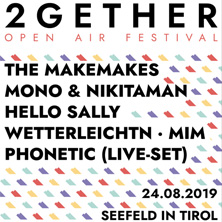 2Gether- Open Air Festival in SEEFELD, 24.08.2019 - Tickets -
