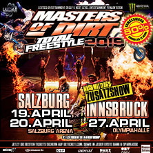 ticketPLUS+ Dinner Masters of Dirt - Total Freestyle Tour 2019
