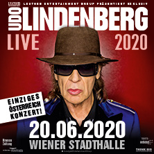 Udo Lindenberg in WIEN, 20.06.2020 - Tickets -