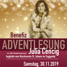 Adventlesung mit Julia Cencig
