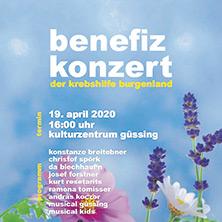 Benefizkonzert Krebshilfe Burgenland