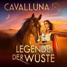 Cavalluna - Legende der Wüste Stallführung VOR der 15:00 Show am 23.05