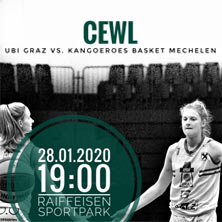 Central Europe Women League - UBI Graz - Kangoeroes Mechelen