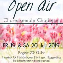 Konzert Chorensemble Chodejum