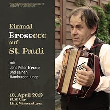 Einmal Brosecco auf St. Pauli!
