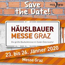Häuslbauermesse 2020 - Tageskarte Samstag, 25.1.2020