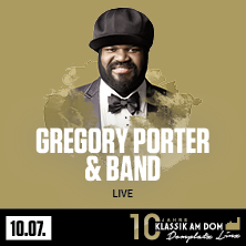 Klassik am Dom 2020 - Gregory Porter
