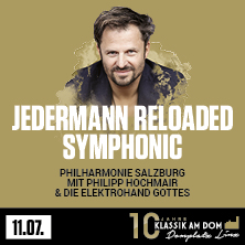 Klassik am Dom 2020 - Jedermann Reloaded Symphonic