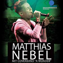 "Matthias Nebel mit Coverband ""a Wunder"""