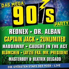 Die Mega 90er Party