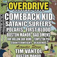 Overdrive Festival 2019 - Satanic Surfers, Polaris, Astpai uvm