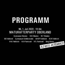 Matura Afterparty Oberland - Vabrik