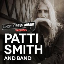 Nacht gegen Armut mit Patti Smith and Band