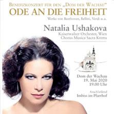 """Benefizkonzert im """"Dom der Wachau"""" - Natalia Ushakova - Ode an die Freiheit"""