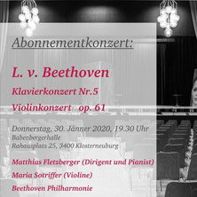 Matthias Fletzberger, Maria Sotriffer - L.v. Beethoven