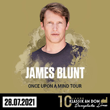 Klassik am Dom 2021 - James Blunt