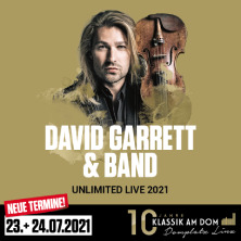 Klassik am Dom 2021 - David Garrett & Band