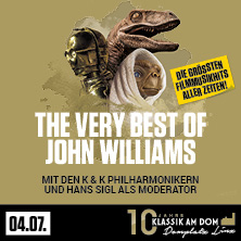 Klassik am Dom 2020 - John Williams
