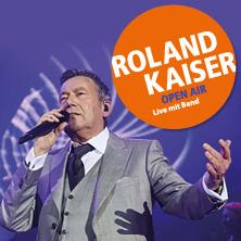 Roland Kaiser live mit Band - Open Air