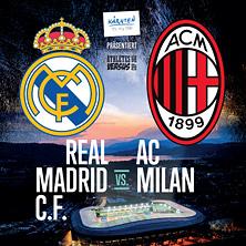 REAL MADRID CF vs AC MILAN