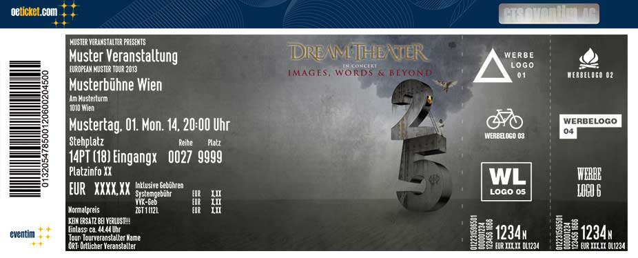 DREAM THEATER - Tickets