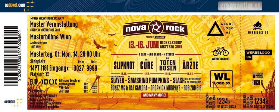 Tickets Für Nova Rock In Nickelsdorf Am 130619 Pannonia Fields