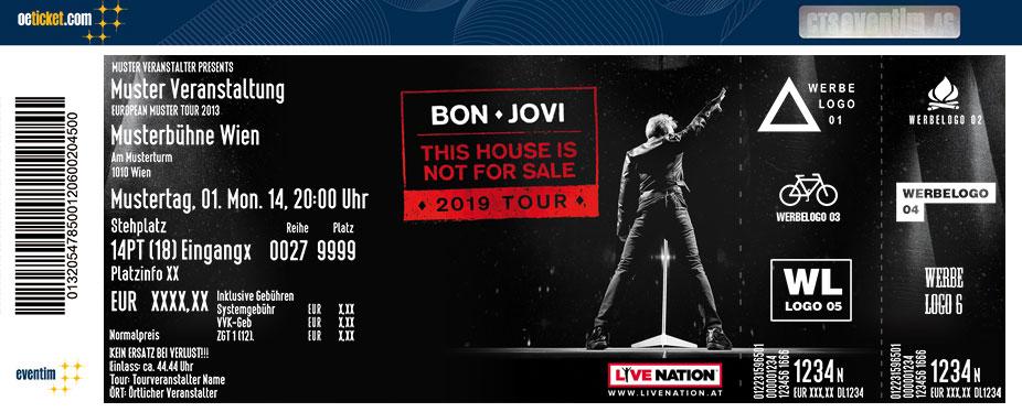 Bon Jovi Tickets 2019 Karten Jetzt Bei Oeticketcom Bestellen