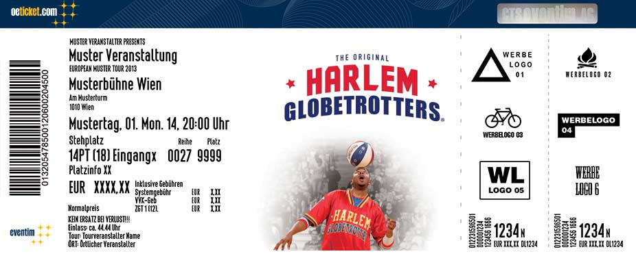 Harlem Globetrotters - Tickets