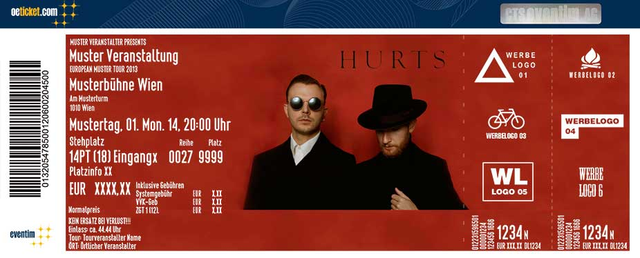 Hurts - Tickets