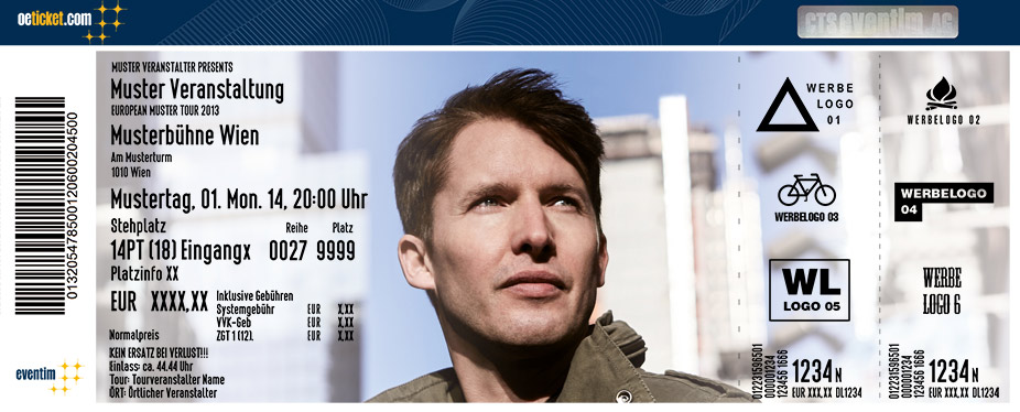 James Blunt: The Afterlove Tour - Tickets