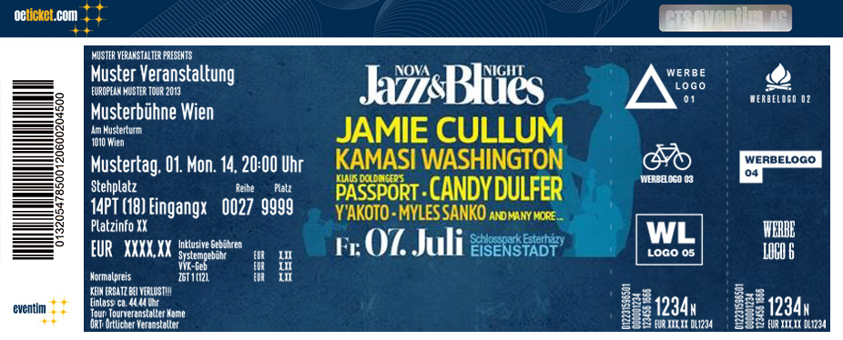 The Nova Jazz & Blues Night Festival 2017 - Tickets
