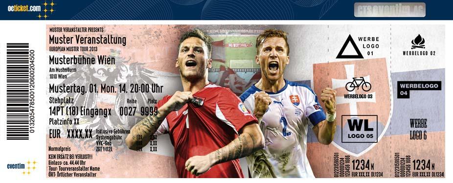 Fanticket Österreich Slowakei ÖFB