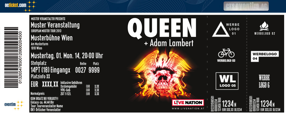 Queen & Adam Lambert - Tickets