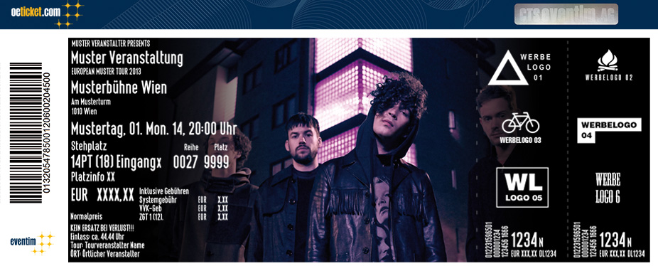 The 1975 - Tickets