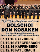 Bolschoi Don Kosaken Tickets