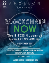 Blockchain now - The Bitcoin Journey - Tickets
