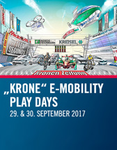 Krone E-Mobility Play Days 2017 - Tickets