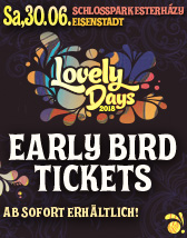 Lovely Days - Tickets
